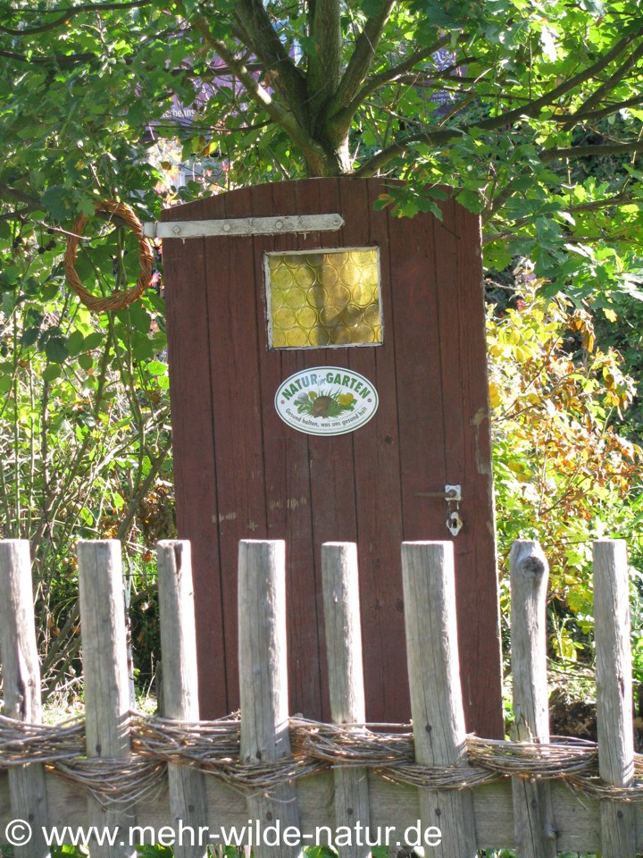 Natur im Garten - ein naturnaher Garten in Großjena bei Freyburg/Unstrut